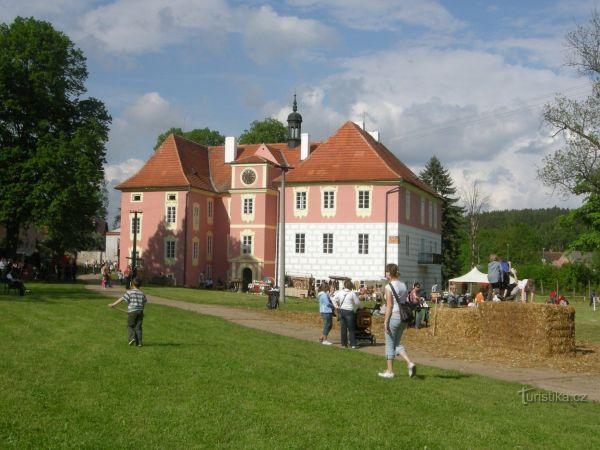 Zámek Koloděje nad Lužnicí otevírá své brány