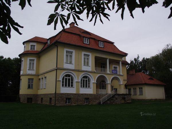 Ždánice – zámecká (Seidlova / Loudonova) vila