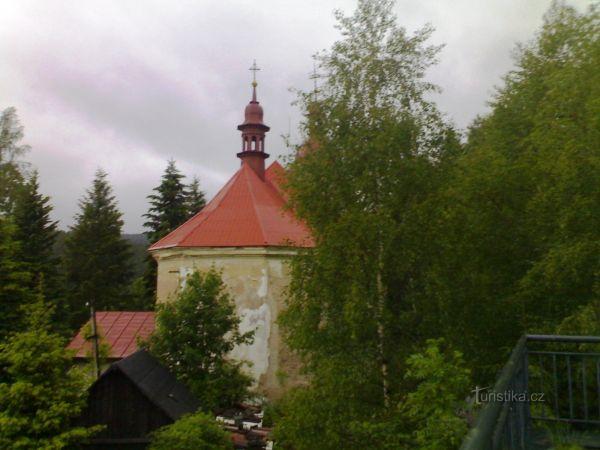 Zdobnice - kostel Dobrého Pastýře