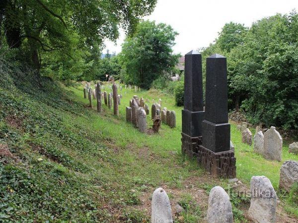 Židovské hřbitovy ve Švihově.