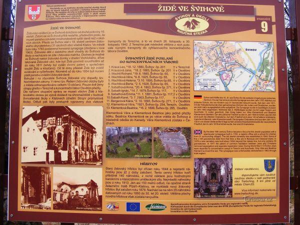 Židovský hřbitov - Švihov