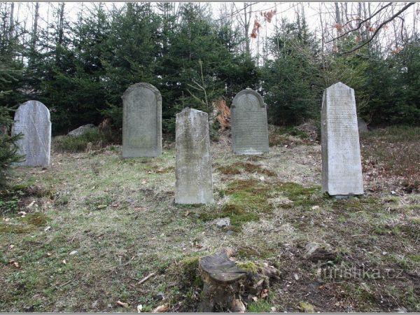 Židovský hřbitov v Rokytnici v Orlických horách