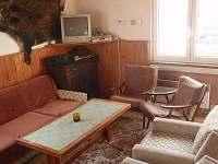 přízemí - obývací pokoj s TV,DVD,rozkládací sedačka