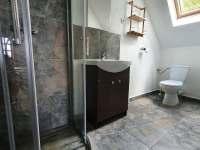 Koupelna - chata k pronajmutí Kunčice