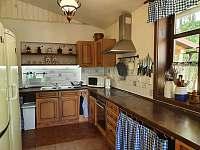 Kuchyně - chata k pronájmu Kunčice