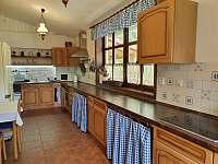 Kuchyně - chata ubytování Kunčice