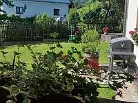 Zahrada - chata k pronajmutí Kunčice