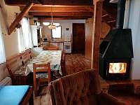 kuchyn - chalupa ubytování Bukovice u Velkých Losin