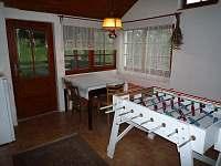 veranda - chalupa k pronájmu Bukovice u Velkých Losin