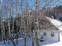 Chalupa pod Pradědem v zimě - ubytování Světlá Hora - Suchá rudná