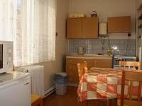 kuchyňka u čtyřlůžkového pokoje