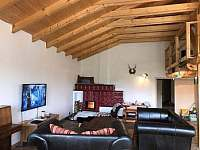 obývací pokoj - pronájem chalupy Písečná