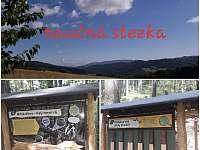 Lesní naučná stezka ( 500 m od chaloupky) - Hostice