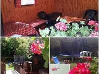 zahrada s pergolou - Hostice