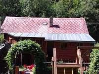 zahrada u chaloupky - chata ubytování Hostice