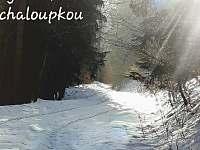 zimní procházka u chaloupky - Hostice