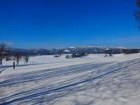 Za Chrasticemi pohoří Kralický Sněžník -
