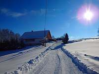 zima 2019 - chalupa k pronájmu Chrastice