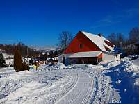 zima Na Návsi - chalupa ubytování Chrastice