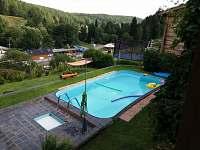 Bazén u chaty - ubytování Malá Morávka