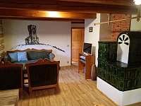 BYT - Obývací pokoj - chata ubytování Malá Morávka