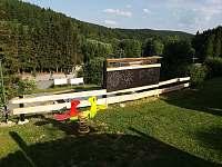 Dětské hřiště - chata k pronajmutí Malá Morávka