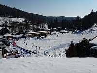 Ski Areál Kopřivná přímo u chaty - Malá Morávka