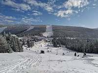 Zima 2021 - Červenohorské sedlo - sjezdovky - Loučná nad Desnou