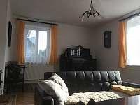 Jiný pohled obývací pokoj. - chalupa ubytování Jeseník