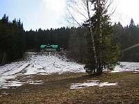 chráněná louka pod chatou Smrčník - ubytování Lipová - lázně