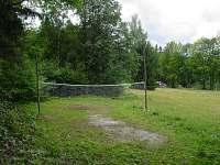 hřiště - chata k pronájmu Lipová - lázně