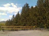 venkovní posezení - Lipová - lázně