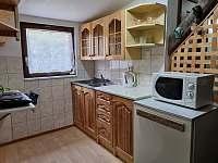 Kuchyňský kout - apartmán 3 (podkroví) -