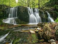 Vodopády Poniklý potok v Koutech nad Desnou - chata ubytování Kouty nad Desnou