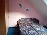 ložnice - pronájem apartmánu Stříbrnice
