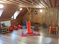 Dětská herna - chata k pronajmutí Štědrákova Lhota