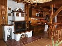 obývací pokoj - chata k pronajmutí Štědrákova Lhota