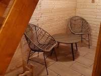 finská sauna - odpočívárna - Malá Štáhle u Malé Morávky
