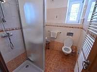 Apartmán A - koupelna s WC