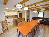 Společenská místnost/jídelna/kuchyně