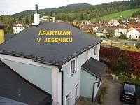 Levné ubytování Bazén Česká Ves Apartmán na horách - Jeseník