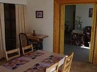 Jídelní kout - apartmán k pronájmu Jeseník