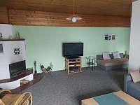 Obývací pokoj - apartmán ubytování Jeseník