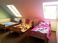 Pokoj pro děti 3 postýlky