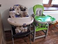 židličky - apartmán k pronájmu Bělá pod Pradědem - Domašov
