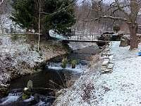 Zimní potok - Petrovice