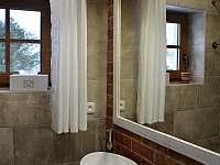 Koupelna v přízemí - sprchový kout + 2 umyvadla - Filipovice