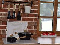 Kuchyňský kout - pronájem chalupy Filipovice