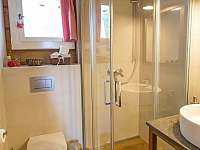 Koupelna - chalupa k pronajmutí Hynčice pod Sušinou