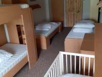 4 lůžkový pokoj č.3 s postýlkou - Vernířovice